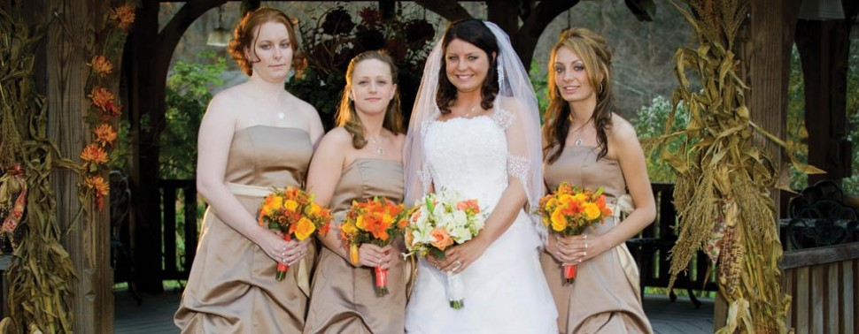 Exterior – Bride and Maids