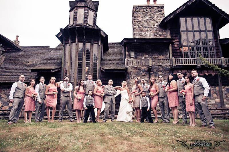 Chic Castle Wedding At Bill Miller S