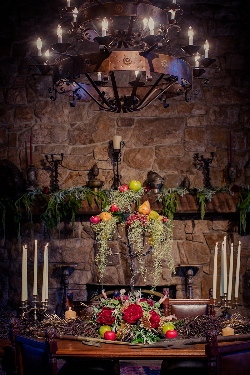 Game of Thrones Styled Shoot at Bill Miller's Castle
